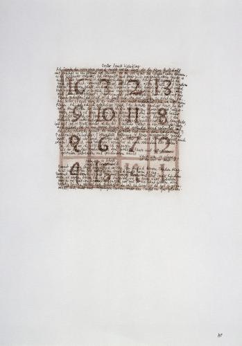 Thomas Mann - das magische Quadrat 1
