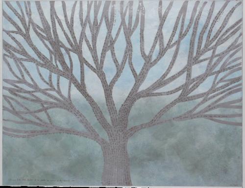 """Aus """"Dunkle Wälder"""": """"Sie lehnte den Rücken an eine der Birken, und einen Augenblick kam es ihr vor, als würde sie selbst ein Baum."""""""